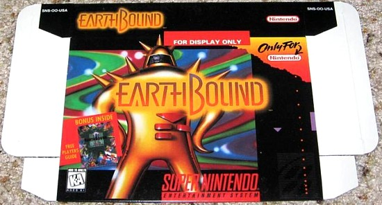 EarthBound display box